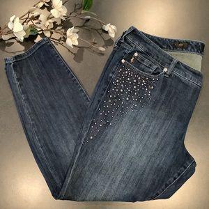 Torrid Premium Studded Bling Skinny Jeans